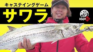 【USHIO 船】東京湾サワラキャスティングゲーム|吉岡進