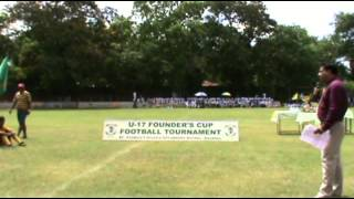 preview picture of video 'Under 17 Founder's cup 2013. Closing ceremony.'