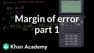 Margin of Error 1