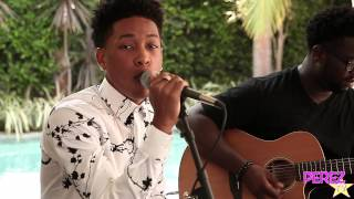 "Jacob Latimore   ""Heartbreak Heard Around The World"" (Acoustic Perez Hilton Performance)"