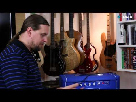 הקלטה ממגבר גיטרה