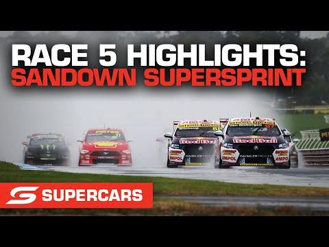 SUPERCARS 2021 Sandown スーパースプリント レース5ハイライト動画