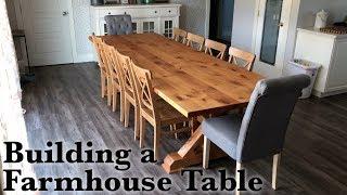 Custom Farmhouse Table Build
