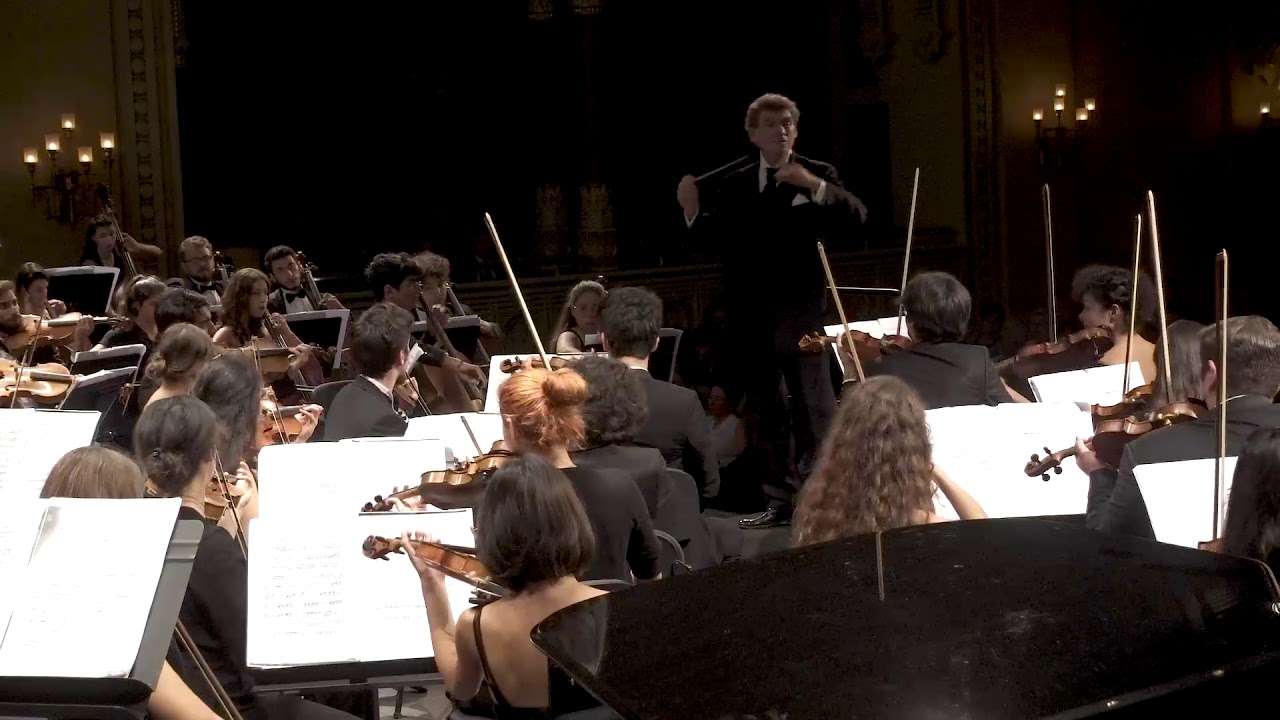 Prokofiev Symphony No. 5, 1st mov with TNYP