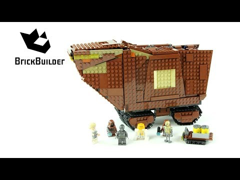Vidéo LEGO Star Wars 75220 : Sandcrawler