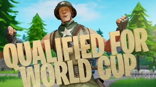 How I qualified for the Fortnite world cup final