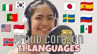 Proud Corazon 11 DIFFERENT LANGUAGES | Disney Coco - Anthony Gonzalez (cover by Hyannah Estanislao)