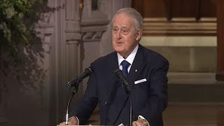 Former Canadian PM Brian Mulroney delivers eulogy for HW Bush [FULL VIDEO]