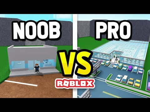 ROBLOX NOOB vs PRO in RETAIL TYCOON