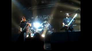 """THE WARNING "" 4 ARM LIVE @ THE HOUSE OF ROCK 10/3/2012 \m/"
