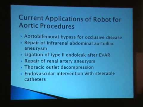 The Current Status of Robotic Surgery- Vascular