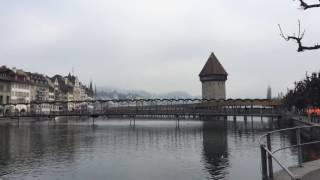 スイス発 ルツェルン市内、ロイス川沿いを散歩【スイス情報.com】