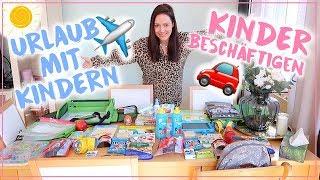 Urlaub mit Kindern✈️•Was packe ich ein? • Lange Autofahrt/ Langer Flug mit Kindern • Maria Castielle