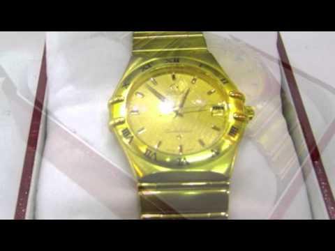 Reloj de oro Omega Constellation de segunda mano en Barcelona - Re-Nuevo