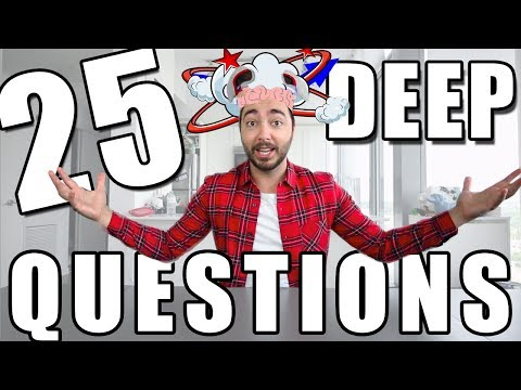 25 DEEP Questions (used in therapy) to REALLY get to know someone!