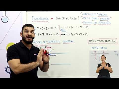 Aula 12 | Estatística - Parte 01 de 03 - Matemática