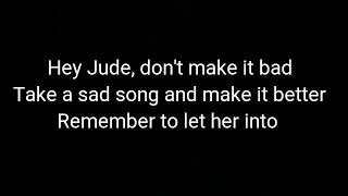 The Beatles  Hey Jude (cover By Jfla Lyrics)