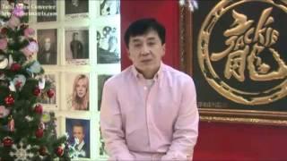 Jackie Chan Agradece aos Fãs do Facebook (dublado)