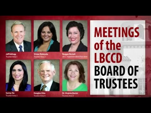 LBCCD - Board Of Trustees Meeting - June 26, 2018