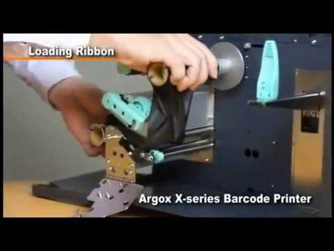Argox X-Serisi (X1000 & X2000 & X3000 & X3200) Printer -  RİBON VE ETİKET TAKILMASI