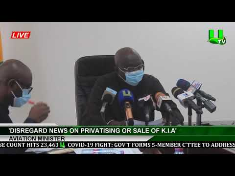 'Disregard News On Privatising Or Sale Of K.I.A' -Aviation Minister
