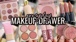 EVERYDAY MAKEUP DRAWER 2020! MAKEUP IM USING THIS SPRING