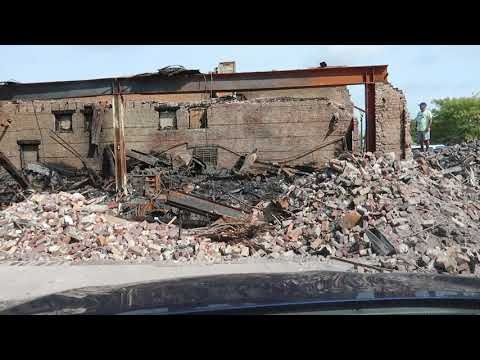 RIOT DAMAGE IN KENOSHA WISCONSIN PART 2