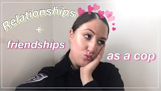 RELATIONSHIP ADVICE FROM FEMALE POLICE OFFICER TO ROOKIES 2020