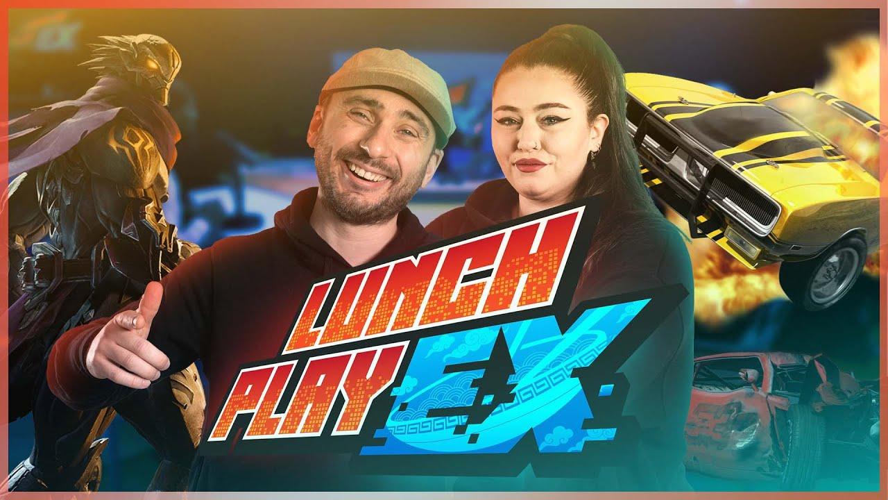 GTA OU RP ? AVEC TRIXY ! | LUNCHPLAY EX#148