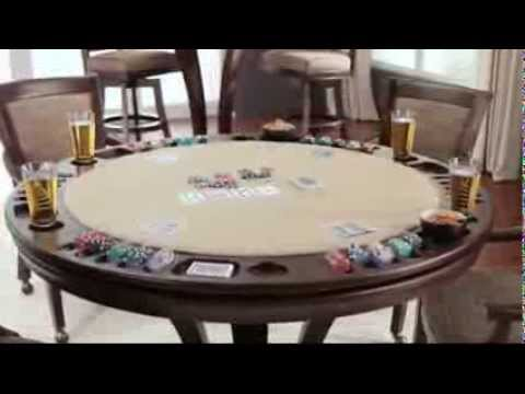 District Reversible Top Game Table Video video2