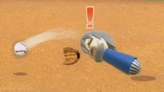 hardcore wii sports baseball raging and funny moments