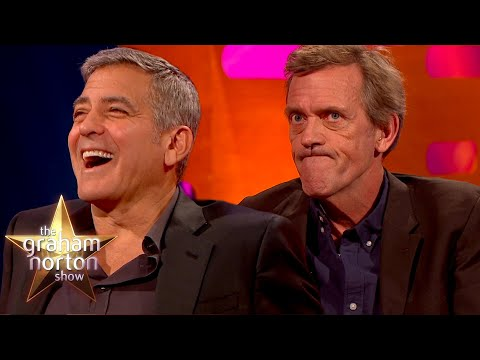 Lékaři Clooney a Laurie - The Graham Norton Show
