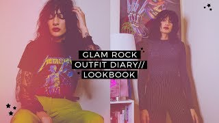 5 GLAM ROCK // EDGY FALL OUTFITS