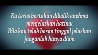 Hanin Dhiya - Kau Yang Sembunyi ( LYRIC VIDEO )
