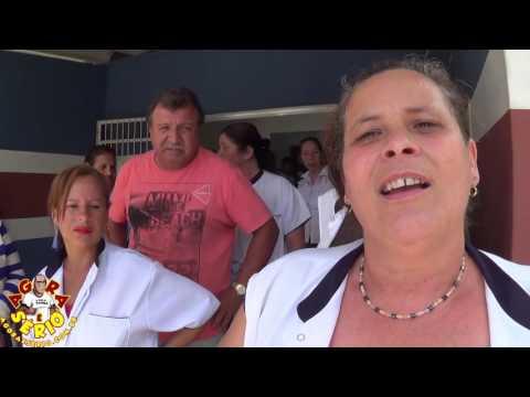 Servidores Público do Hospital de Juquitiba reclamam na porta da Prefeitura pela falta de Almoço