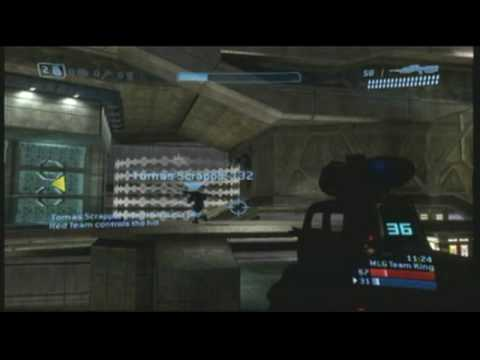 My Halo 3 Team King of the Hill Construct Gameplay -- PART 1