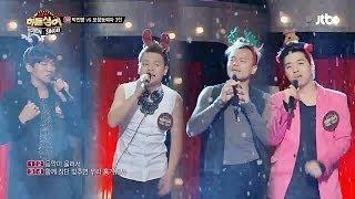 제 3라운드 미션곡, '썸머 징글벨'♬ - 히든싱어2 10회 박진영(JYP) 편