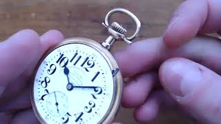 How to Set and Wind a Railroad Grade Pocket Watch