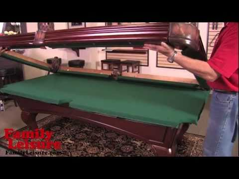 HOW TO INSTALL A POOL TABLE -  Slate Billiard Pool Table Installation Video Mp3