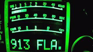 445 Radioman on his HiFi setup.