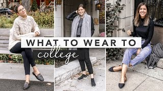 What to Wear to College - Different Outfit Ideas and Inspiration | by Erin Elizabeth