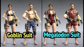 Goblin Suit and Megalodon Suit FOB Infiltration in Metal Gear Solid V: The Phantom Pain (MGS5)