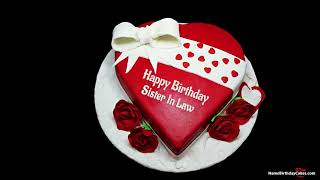 Happy Birthday Sister In Law - Best Wishes For You