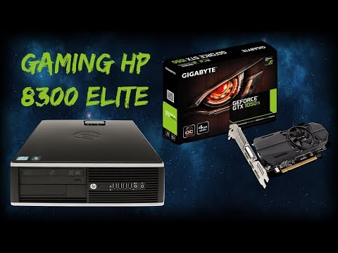 Turning my HP 8300 Elite into a budget entry level gaming PC