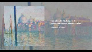 String Quartet no. 1, Op. 7
