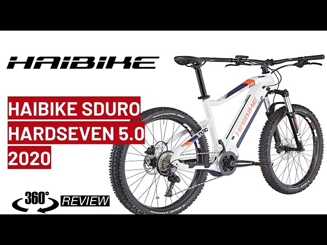 Видео Электровелосипед Haibike SDURO HardSeven Life 5.0 500Wh blue/red/white