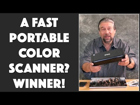 The CRAZY COOL Epson ES-300W Scanner – Demo & Review