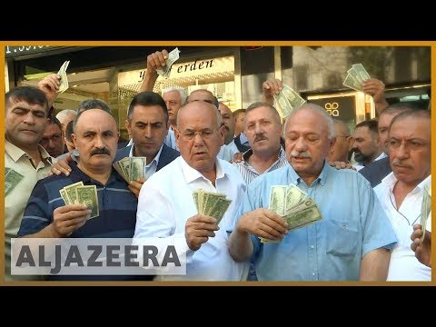 🇹🇷 Turkey crisis: Erdogan vows to boycott US electronics | Al Jazeera English