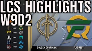 LCS Highlights ALL GAMES Week 9 Day 2 Spring 2020 League of Legends Championship Series