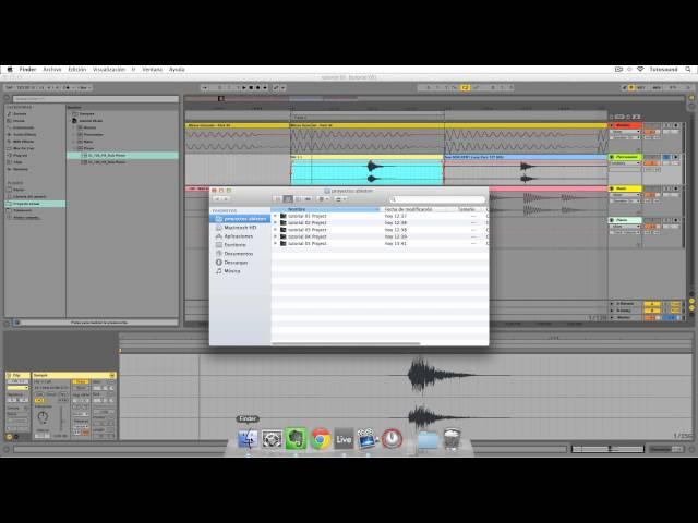 Ableton Live - Tutorial 06 : Edición de Audio